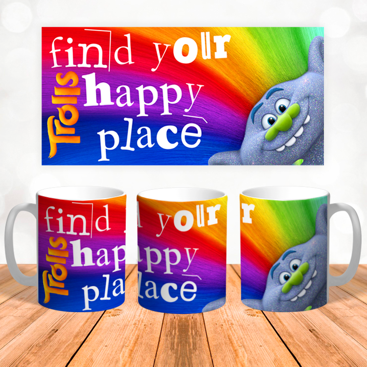 """Кружка """"Find your happy place"""""""