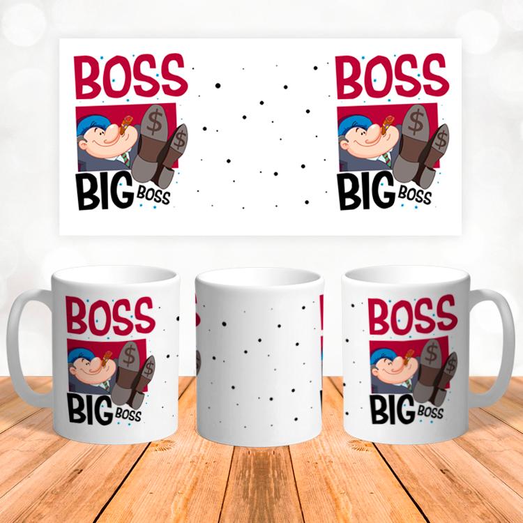 """Кружка """"Boss big boss"""""""