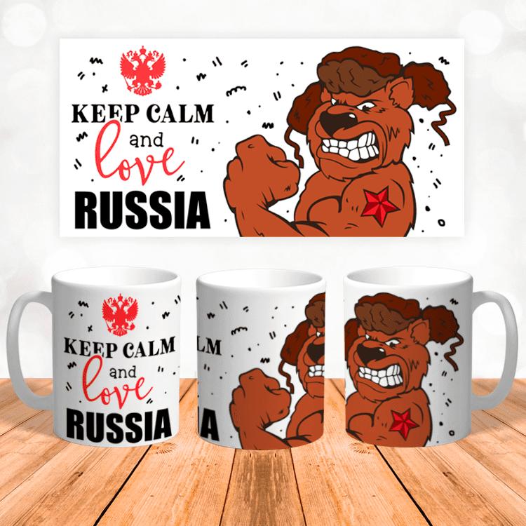 """Кружка """"Love Russia"""""""
