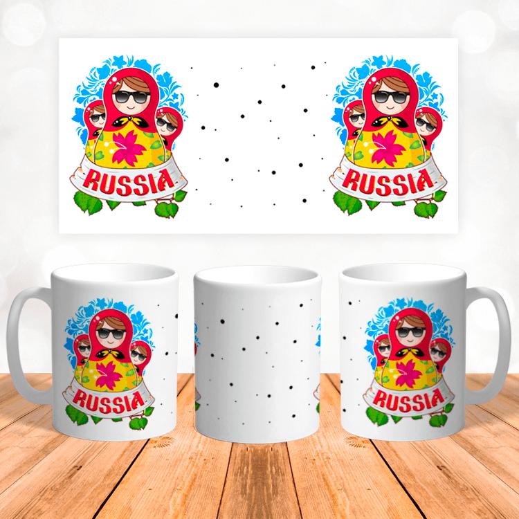 """Кружка """"Russia"""""""