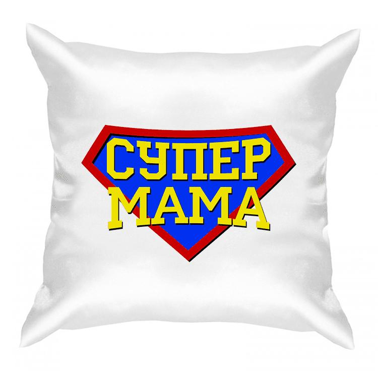 """Подушка """"Супер мама"""""""
