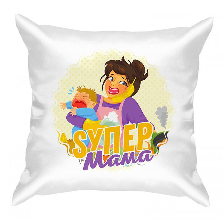 """Подушка """"Super мама"""""""